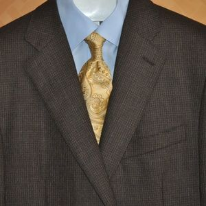 Ermenegildo Zegna Brown Heather Sport Coat MINT